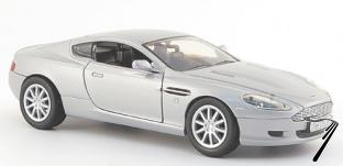 Aston Martin DB9 argent argent 1/24