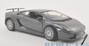 Lamborghini Gallardo Superleggera noir Superleggera noir 1/24