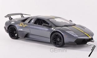 Lamborghini . LP670-4 SV gris métallisé 1/24