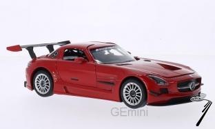 Mercedes . AMG GT3 rouge 1/24