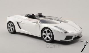 Lamborghini Concept S blanc Concept S blanc 1/24