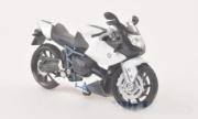 BMW HP2 sport blanc/noir  1/18