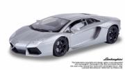Lamborghini Aventador LP700-4 gris métallisé LP700-4 gris métallisé 1/18