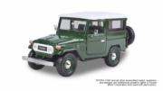 Toyota . 40 soft top vert/blanc 1/24