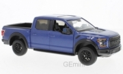 Ford . Raptor Bleu 1/24
