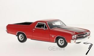 Chevrolet . Rouge 1/24