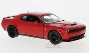 Dodge . SRT Hellcat rouge 1/24