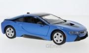 BMW i8 bleu métal Bleu métal 1/24