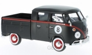 Volkswagen . pick up noir 1/24