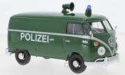 Volkswagen . Fourgon Police Allemande 1/24