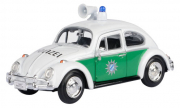 Volkswagen . Police Bavaroise Blanc/vert 1/24
