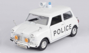 Mini . Cooper Police Blanc 1/18