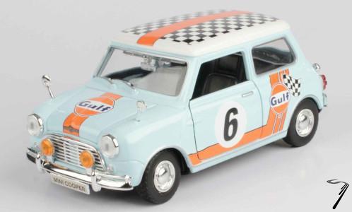 Mini Cooper #6 Gulf  1/18