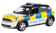Mini . S Countryman Police Blanc 1/24
