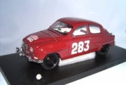 Saab 96 #283 Rallye Monte Carlo - broken front light, little traces of glue.  1/43