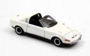 Opel . Aero cabriolet blanche 1/43