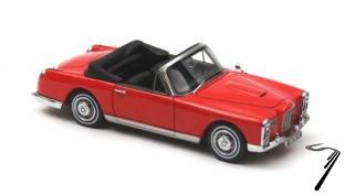 Facel Vega FV lb DHC cabriolet rouge FV lb DHC cabriolet rouge 1/43