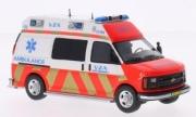 Chevrolet . GMT-610 VAZ Ambulance Amsterdam 1/43