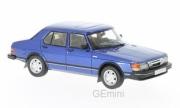 Saab . GLI bleu métallisé 1/43