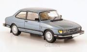 Saab . bleu clair métallisé 1/43