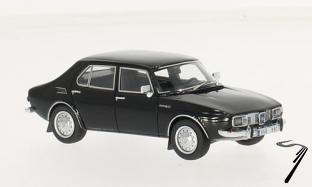 Saab . noir 1/43