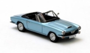 Glas . 1300 GT convertible metallic blue 1/43