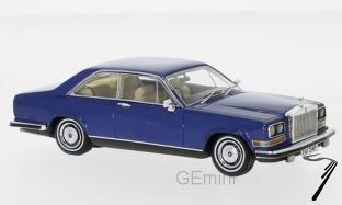 Rolls Royce . bleu métallisé 1/43