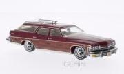 Buick . wagon metallic red / wood 1/43