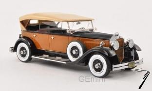 Packard . 733 Standard 8 orange/noir 1/43