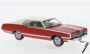 Ford . Coupé rouge 1/43