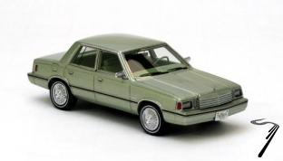 Dodge . Aries K-car vert métallisé 1/43