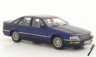 Opel . B bleu foncé métallisé 1/43