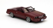 Dodge . convertible metallic red 1/43