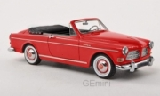 Volvo . Amazon coune cabriolet rouge 1/43