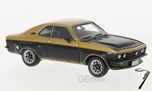 Opel . TE 2800 doré/noir 1/43