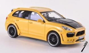 Divers . Hamann Guardian jaune (Porsche) 1/43