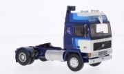 Volvo . F12 Globetrotter blue/white with michelin figure 1/43