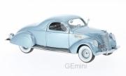 Lincoln . coupé bleu métallisé 1/43