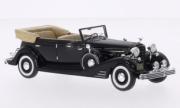 Cadillac . Allweather Phaeton convertible black 1/43
