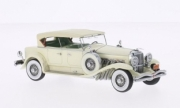 Duesenberg . Model J Tourster Derham beige 1/43