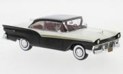 Ford . 500 hard top noir/blanc 1/43