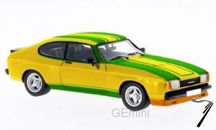 Ford . MKII X-Pack jaune/vert 1/43