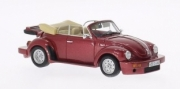 Volkswagen . cabriolet rouge métallisé 1/43