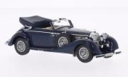 Mercedes . 540K convertible dark blue 1/43