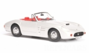 Divers . Lorenz & Rankl silver falcon convertible silver with red interior 1/43