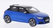Audi . Sportback bleu/noir 1/43