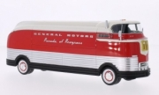 Divers . GM Futurliner argent/rouge 1/43