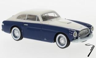 Cunningham . C3 coupe bleu / blanc 1/43