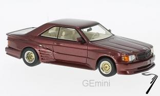 Mercedes . SEC Koenig specials rouge 1/43
