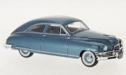 Packard . De Luxe club 2 portes bleu métallisé 1/43